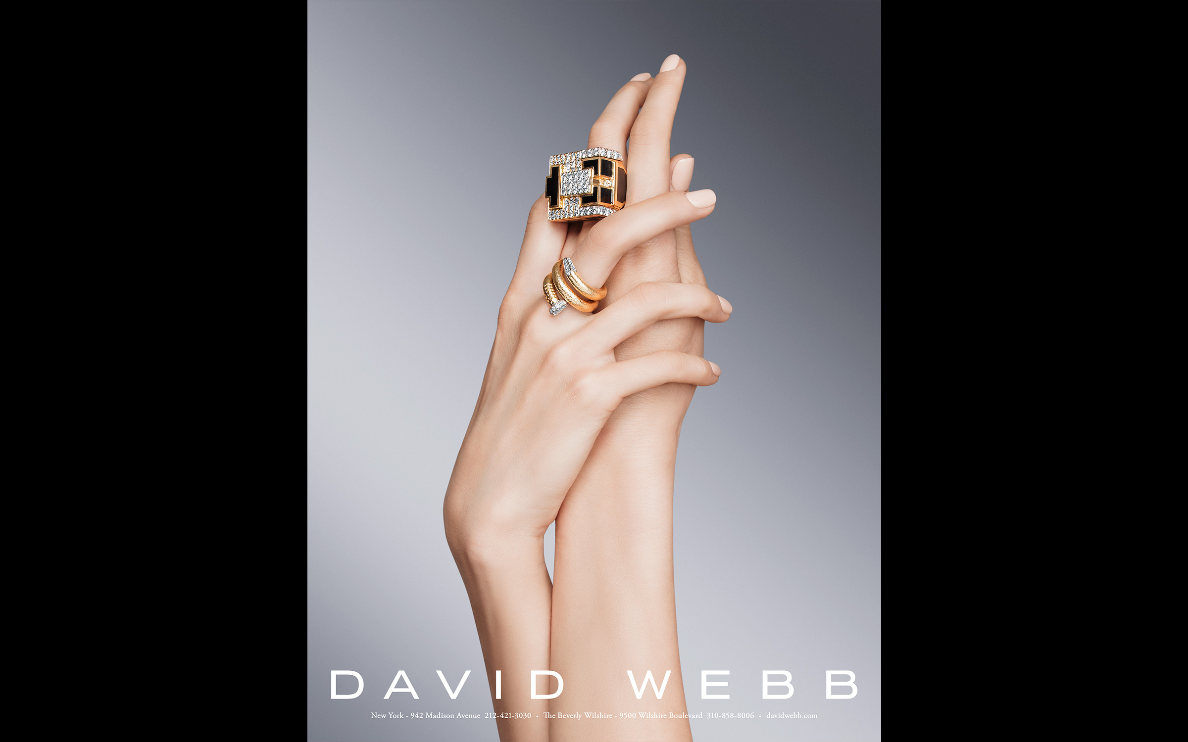 Beauty still life photography and product photography for David Webb New York