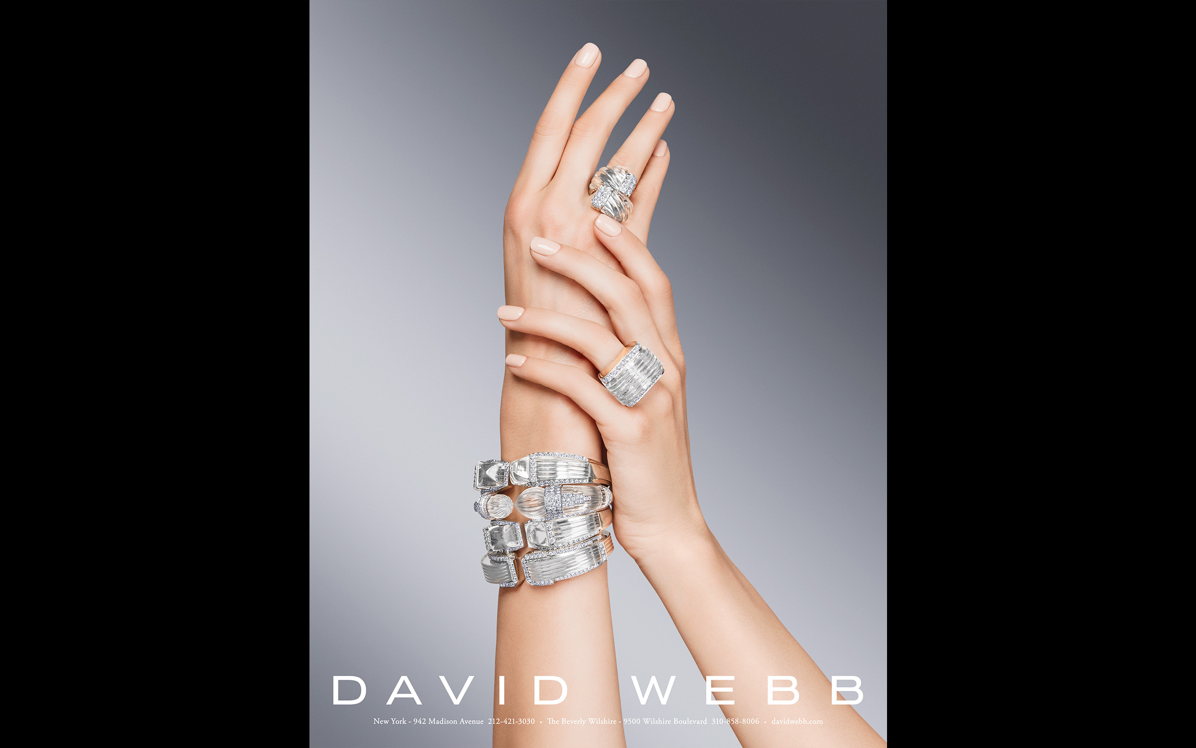 Jewelry still life photography and product photography for David Webb New York
