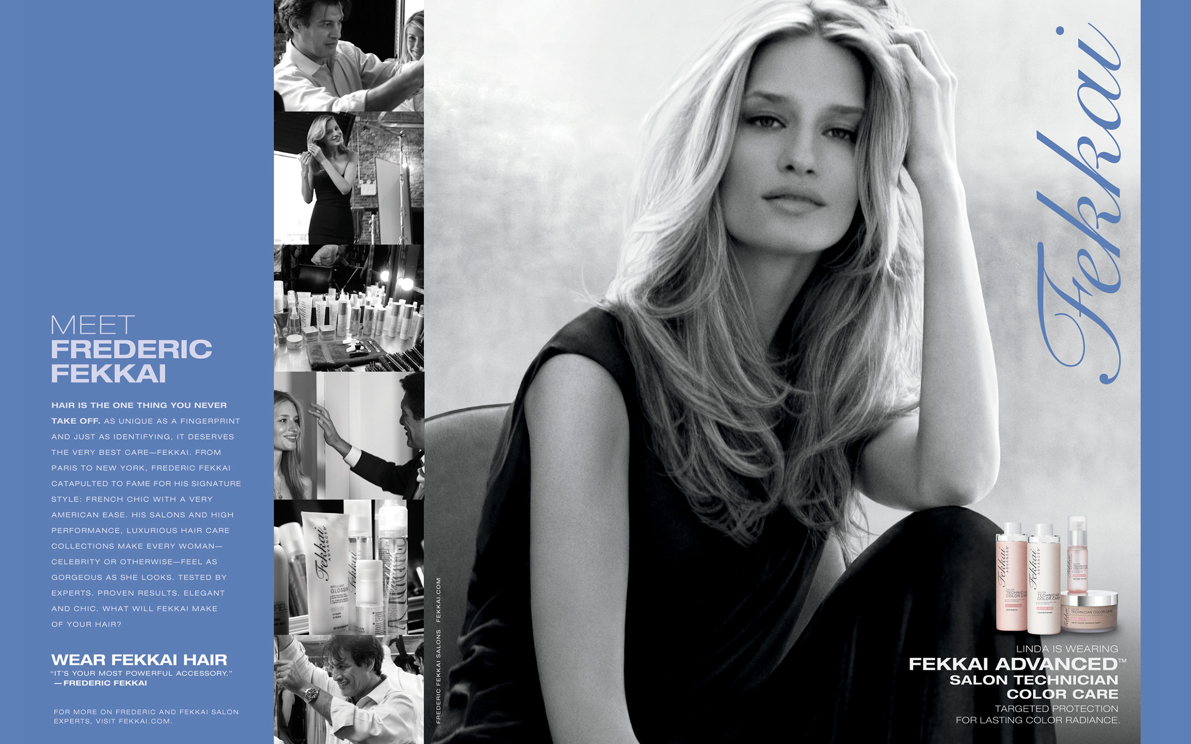 New York still life photographer, shoots campaign for luxury hair care brand Frederic Fekkai