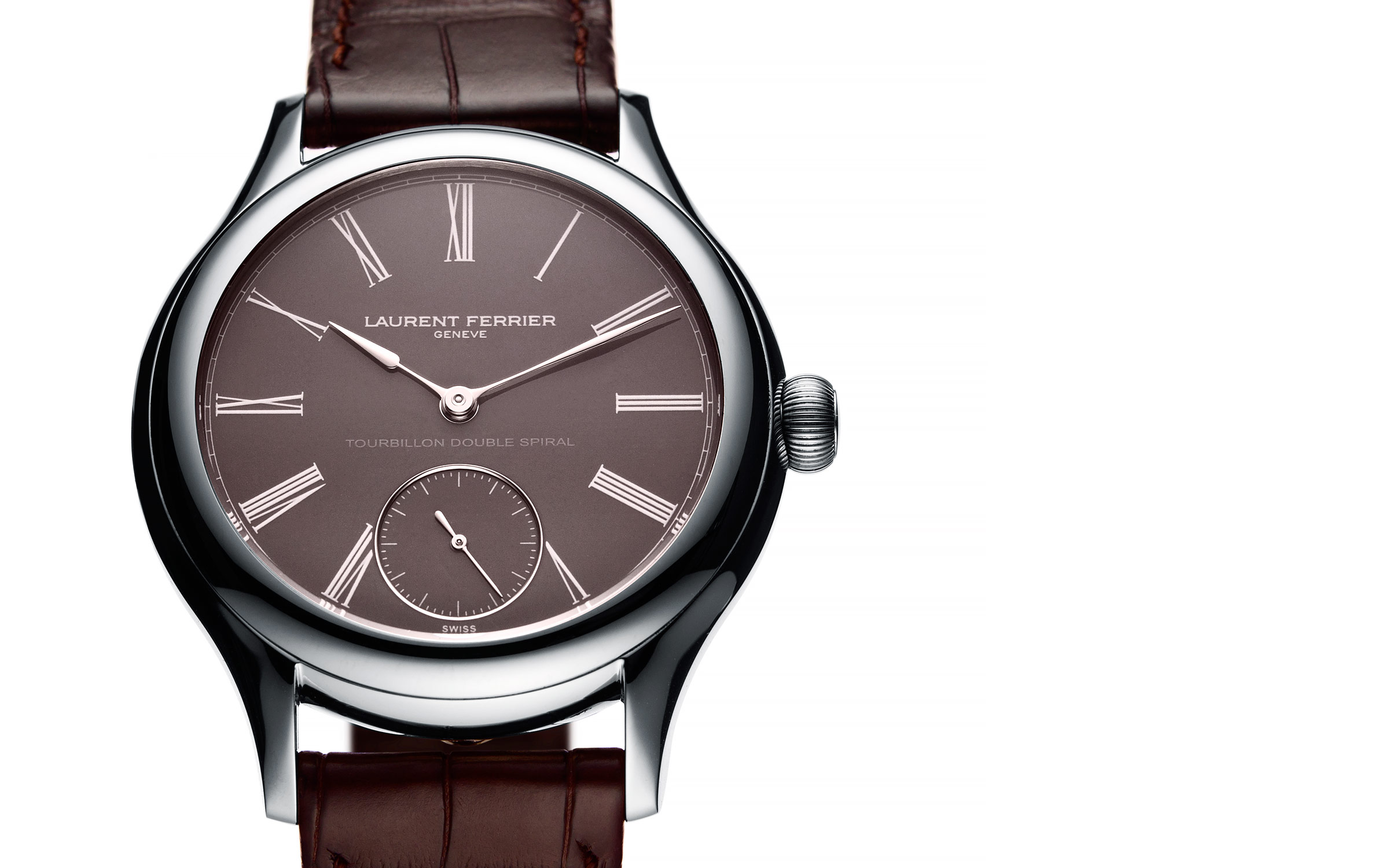 Still life photography of watches for Laurent Ferrier