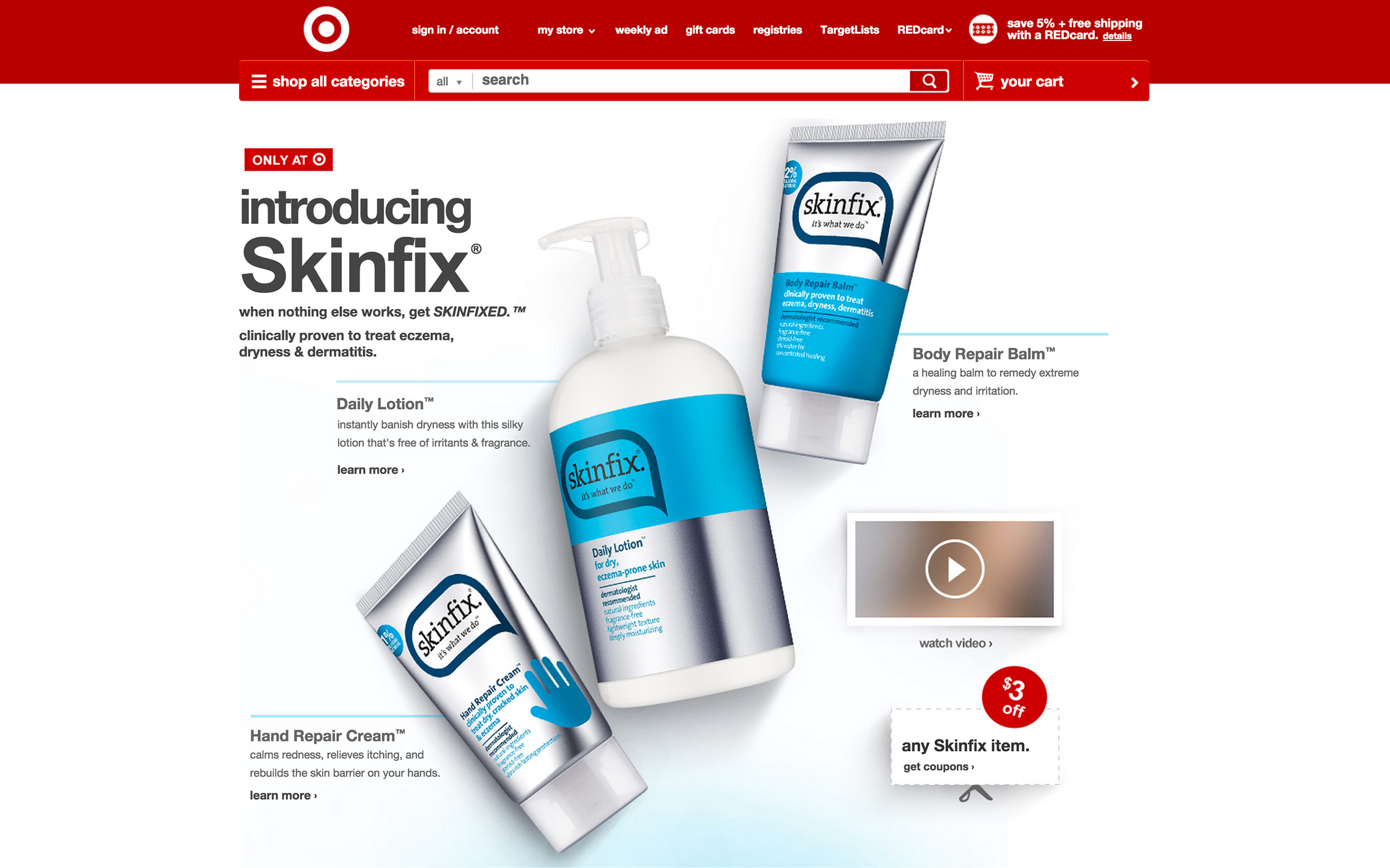 ZACHARY GOULKO | NYC Product photography for skin care brand Skinfix by Zachary Goulko